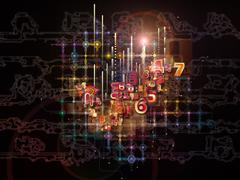 Synergies of Network - stock illustration
