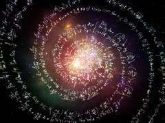 Inner Life of Formulas - stock illustration