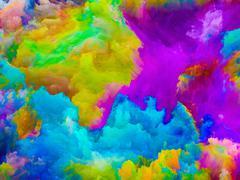 Colors Backdrop - stock illustration