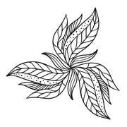Stock Illustration of Vector flourish background