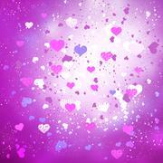 Love and romance Stock Illustration