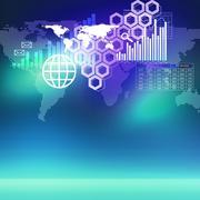 Global technologies - stock illustration