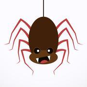 Spider icon - vector illustration Stock Illustration