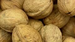 Walnuts macro (BMCC 2.5K - 2400x1350) Stock Footage