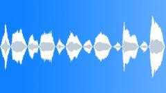 Small kid tired deep breathing loop Sound Effect