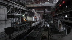 View of the working shop  Stock Footage