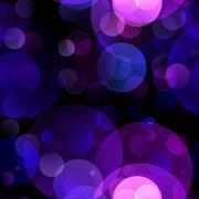 Purple bokeh background - stock illustration