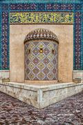 Traditional Islamic architecture in Doha, Qatar Stock Photos