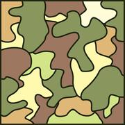 Army camouflage background Stock Illustration