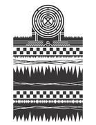 native american pattern - stock illustration