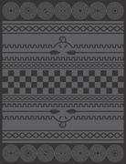 Native american pattern Stock Illustration
