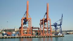 Port of haydarpasa hd Stock Footage