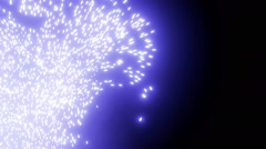 Energy Field Particles Flow Stock Footage