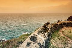 Azores landscape Stock Photos