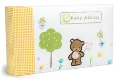 Photo book for baby on a white background Stock Photos