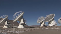 Paranal Observatory - Astronomical Observatory (Atacama Desert of Chile) - stock footage