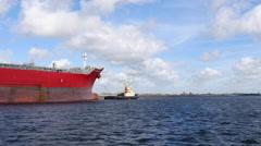 Tanker STI Sapphire Stock Footage