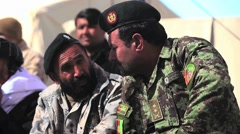 War in Afghanistan - Afghan elders, government and military leaders meeting  Arkistovideo