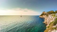 Timelapse of beautiful landscape of Mallorca island, Spain Stock Footage