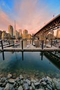 Vancouver False Creek Stock Photos