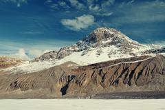 Columbia Icefield - stock photo