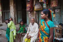 Streets of Agra, India Stock Photos