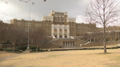 Central High School - Little Rock, Arkansas Stock Footage
