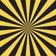 Vector modern stripe rays background Stock Illustration