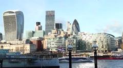 Panorama of London. Stock Footage