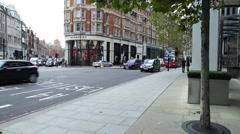 Double Decker. London street. - stock footage