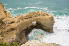 The Grotto in Victoria, Australia Stock Photos