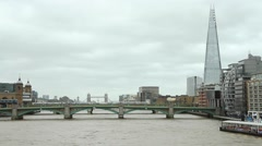London Shard Stock Footage