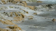 natural thermal springs in Saturnia, Italy. - stock footage