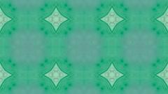 Mosaic fractal geometric kaleidoscopic Stock Footage