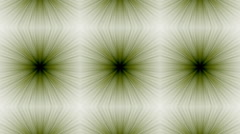 Mosaic fractal geometric kaleidoscopic - stock footage