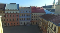 Lublin, Poland. Aerial View 02 Stock Footage