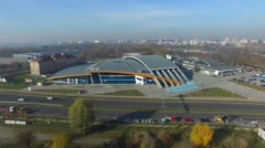 AQUA LUBLIN, Aerial View. 05 Stock Footage