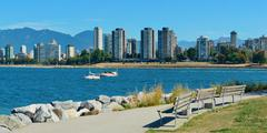 Stock Photo of Vancouver downtown