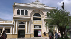 Cine movie theatre of Ilheus, Brazil - stock footage