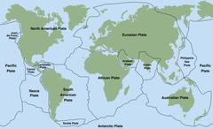 Plate Tectonics Stock Illustration