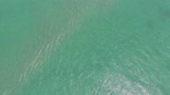 Aerial Fisher Island Miami, Florida Stock Footage