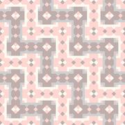Stock Illustration of Geometric abstract pattern. Seamless vector background.