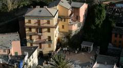 Manarola, Liguria, Italy, EU, Europe - stock footage