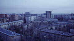 City Evening, TimeLapse, Russia Stock Footage