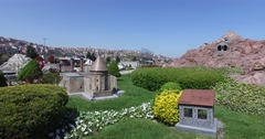 Miniaturk in Istanbul, Stock Footage