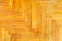 Background from lacquered oak parquet Stock Photos