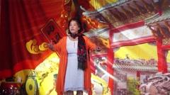Stage performance activities, temple ceremonies Stock Footage
