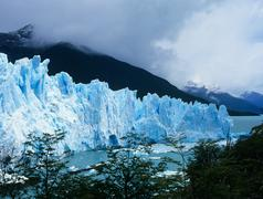Perito merino glacier - stock photo