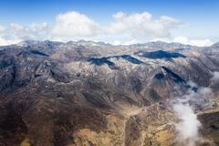 Andes - stock photo