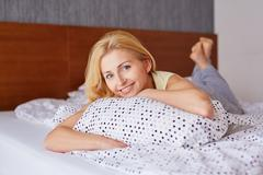Weekend time bliss - stock photo